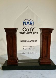 NARI 2017 COTY Award Ben's General Contracting Commercial Interior Regional Winner