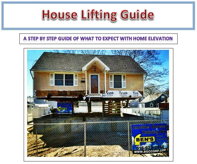 House Lifting Guide: A Step By Step Home Elevation eGuide
