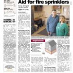 newsday article - fire sprinklers