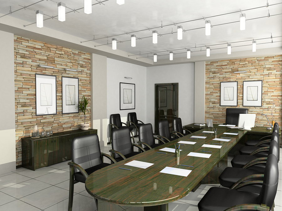Commercial office space contractor office renovations for Director office room design