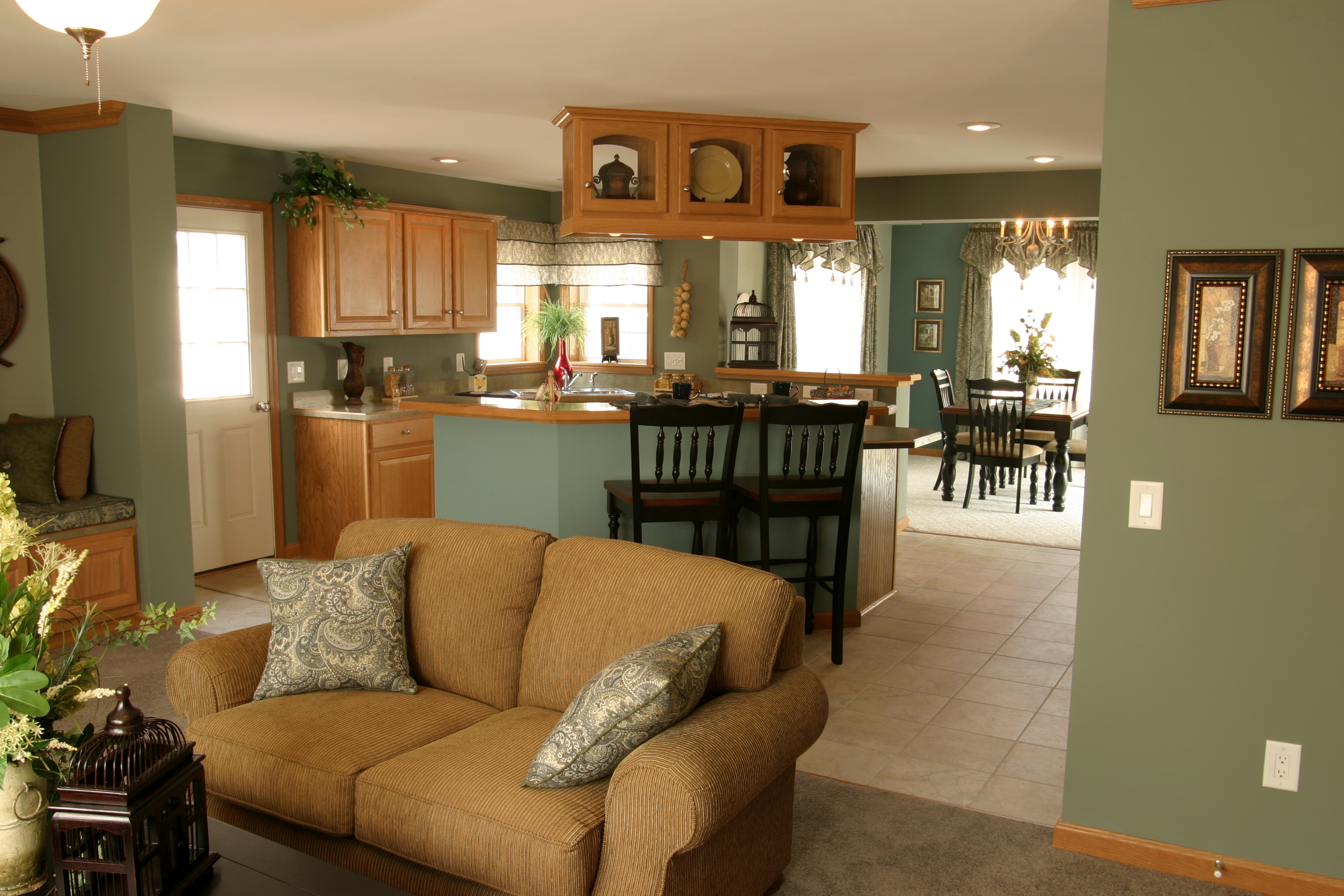 ARNETT 3 Living Area Interior Manufactured Modular Homes In Long Island