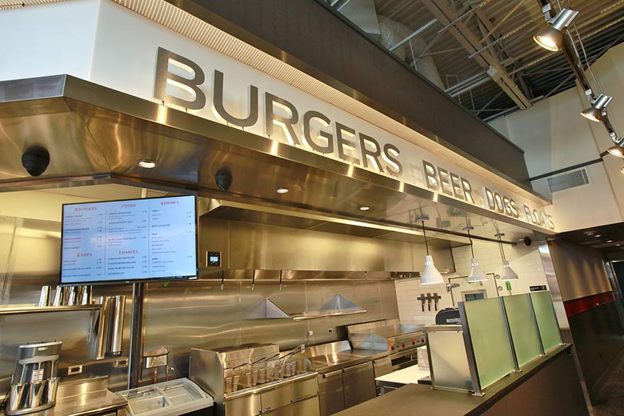 Burger Restaurant Kitchen Layout guide to building a successful burger restaurant | commercial