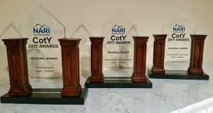Ben's NARI 2017 CotY Awards - Regional Winner Commercial & Residential Interiors
